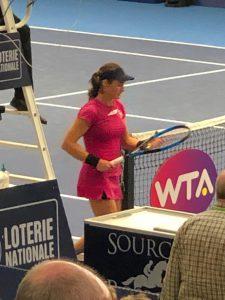 WTA Turnier zum Anfassen